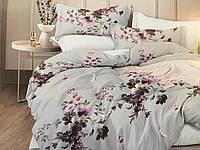 Комплект постельного белья Постелька «Цветы» из Сатина 220.0 (см), 220.0 (см), 1 (шт), Двуспальный, 180.0 (см), 200.0 (см)
