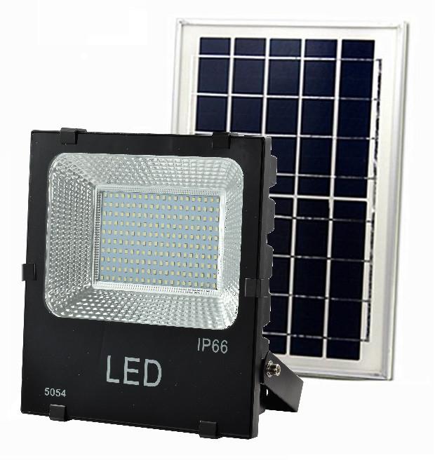 Светодиодный прожектор на солнечной батарее Sol H Premium 100 Вт
