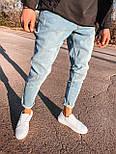 😝 Джинсы - Светло-голубые мужские джинсы, фото 2
