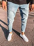 😝 Джинсы - Светло-голубые мужские джинсы, фото 3