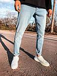 😝 Джинсы - Светло-голубые мужские джинсы, фото 4
