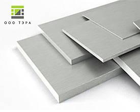Шина алюминиевая полосам 80 мм 6082 (АД35Т) 80х5; 80х15; 80х20; 80х30; 80х40 мм 80х40