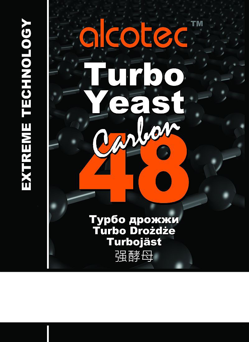 Дрожжи Alcotec 48 Turbo Carbon