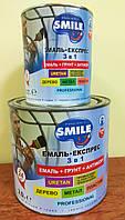 Емаль-експрес молоткова Сапфірова  3 в 1 0,7кг