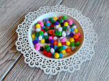 Помпоны - шарики микс D - 1 см, 100 шт - 10 грн, фото 2