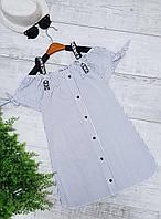 Модное  платье для девочки  код 819  лето , размеры на рост от 140 до 158 возраст от 10 лет и старше, фото 1