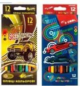 Карандаши цветные 12 цв. «It's cool» Для мальчиков