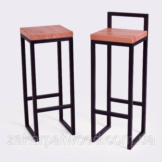 Барний стілець лофт 60см (L_312)