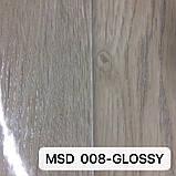 Плівка ПВХ MSD 008-GLOSSY глянцева з малюнком під дерево для натяжних стель, ширина рулону 3,2 м., фото 2