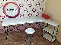 Кушетка Эконом + тележка косметологическая + стул мастера без спинки