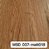 Пленка ПВХ MSD 007-matt018 с фактурой дерева для натяжных потолков, ширина рулона 3,2 м., фото 2