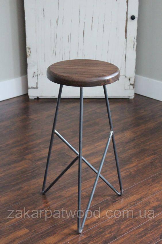 Барный стул лофт 60см (L_313)