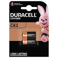 Батарейки DURACELL DL CR2, упаковка 2 штуки