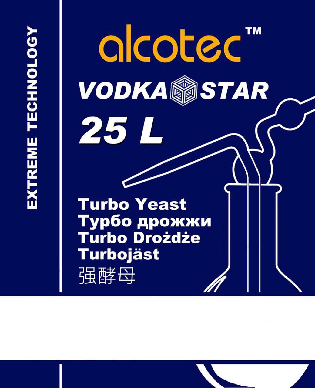Дрожжи Alcotec VODKA STAR 25L