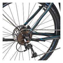 "Велосипед 28"" CROSS Travel Gent 27 spd рама 19"" 2015 серый, фото 3"
