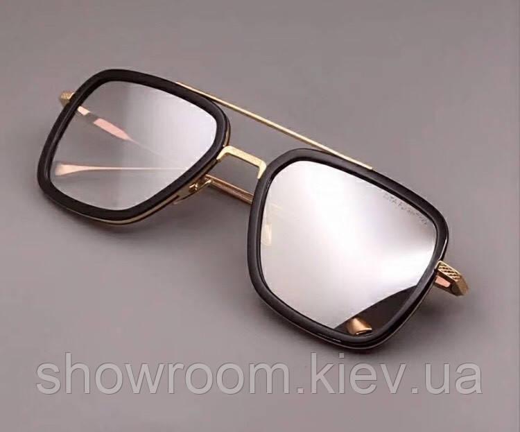 Мужские солнцезащитные очки в стиле Dita Flight Lux gold