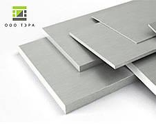 Алюминиевая полоса 100 мм 2017 Т4 дюралевый брусок, заготовка Д1Т, фото 2