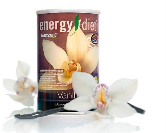 Коктейль Ваниль Энерджи Диет Energy Diet банка правильное питание быстро похудеть без голода и диеты Франция