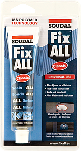Клей-герметик Soudal Fix All 80 мл