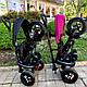 Детский трехколесный велосипед Sun Baby QPlay Rito Air (J01.014.16) черный, фото 9