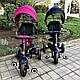Детский трехколесный велосипед Sun Baby QPlay Rito Air (J01.014.16) черный, фото 10