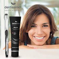 Экстра-отбеливающая зубная паста Dentissimo Extra Whitening 75мл. Black Limited Edition TP0007