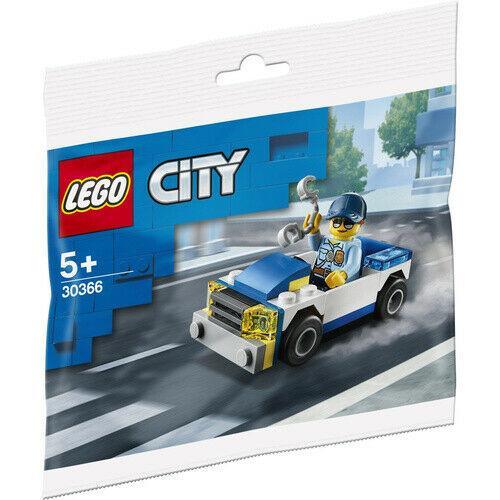 Lego City Поліцейська машина 30366