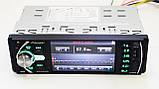 Автомагнитола с экраном 1din Pioneer с камерой Блютуз\USB\micro SD + пульт на руль, фото 3