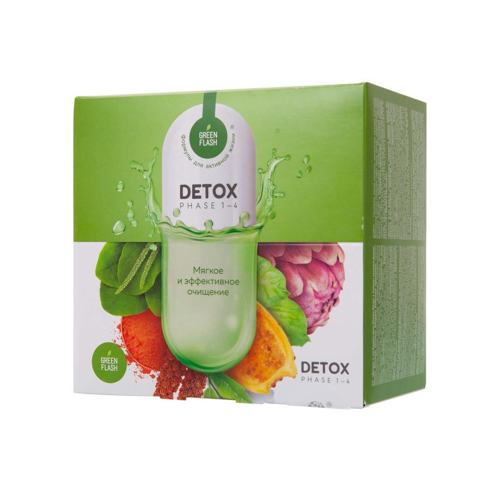 DETOX Программа комплексная очистка организма детокс 4 шага удаление токсинов шлаков для процесса похудения