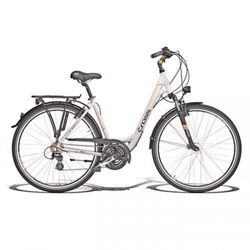"""Велосипед 28"""" CROSS Arena Wave 21 spd рама 20"""" 2015 белый"""