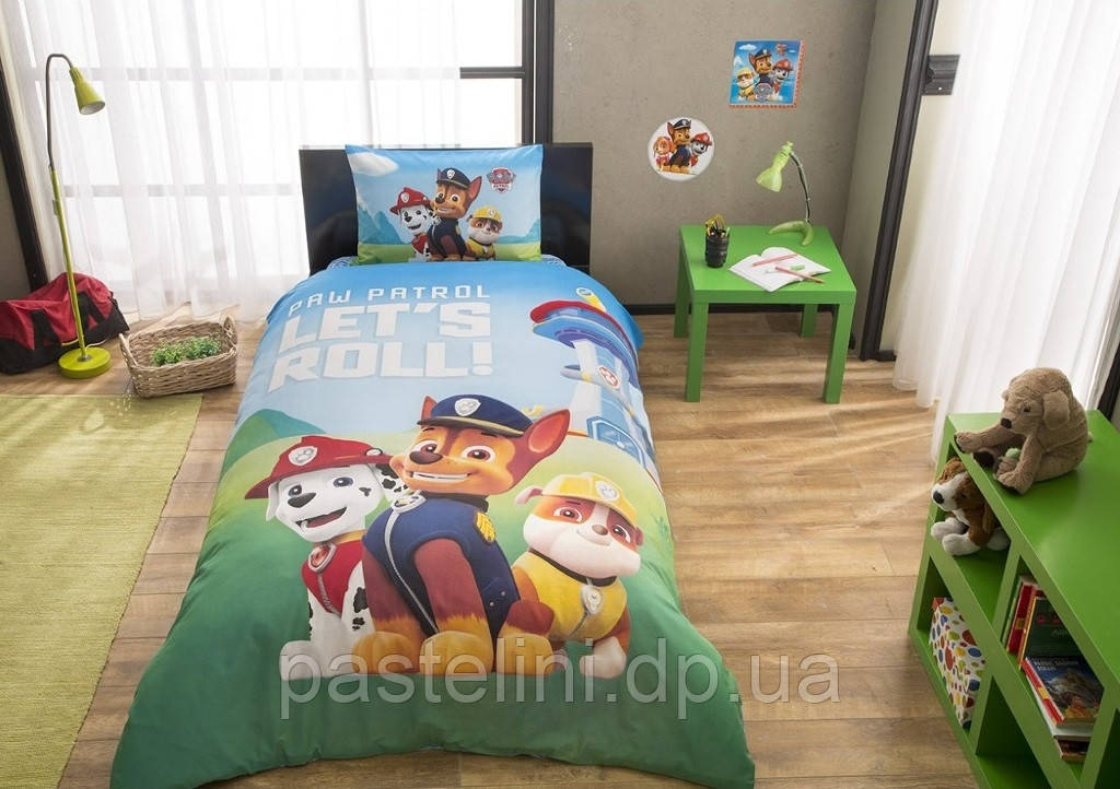Новые поступления детского постельного белья Paw Patrol (Щенячий патруль)