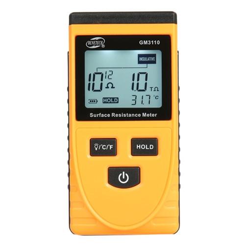 Измеритель поверхностного сопротивления (1kΩ ~1000ГΩ) BENETECH GM3110