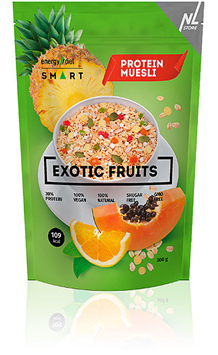 Мюсли Energy Diet Smart Exotic Fruits Мюсли с ананасом, апельсином и папайей