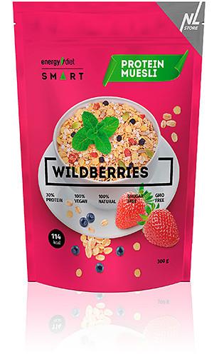Мюсли Energy Diet Smart Wildberries Мюсли с клубникой и черникой