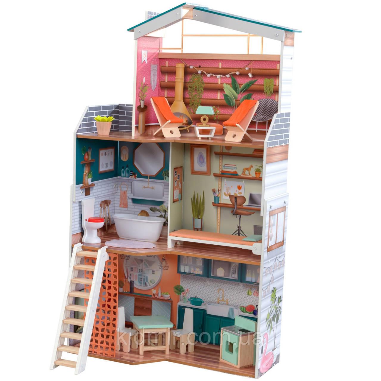 Кукольный дом с мебелью Марлоу KidKraft Marlow 65985
