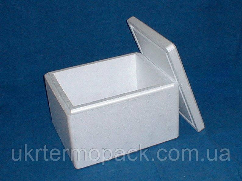 Термобокс, термоящик, термоконтейнер. 4 литра КОМПЛЕКТ+