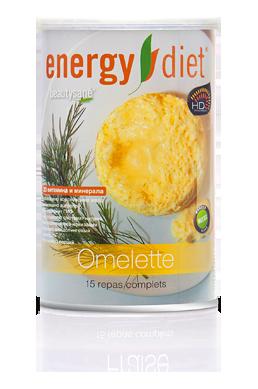 Омлет Енерджи диет Energy Diet HD банка сбалансированное питание для похудения коррекция вес Франция