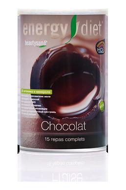 Коктейль Шоколад Энержди Диет слим Energy Diet slim банка NL похудение диета без голода заменитель еды Франция