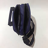 Сумка мужская спортивная через плечо / синяя, фото 2