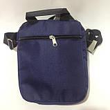 Сумка мужская спортивная через плечо / синяя, фото 4
