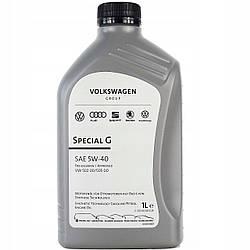 Оригинальное моторное масло VAG Special Plus G 5W-40 1л (GS55502M2)