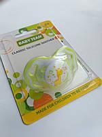 Пустышка силиконовая классическая Baby Team 6+, фото 1