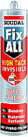 Клей-герметик Fix All High Tack Invisible 290 мл