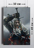 Плакат А3, Ведьмак 2