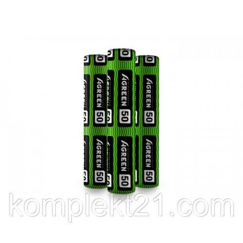 Черно-белое агроволокно AGREEN 50 г/м2 (3.2х50) Мульчирующее