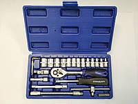 """Набор ручного инструмента 1/4"""" 25 ед. СТАНДАРТ ST-1425 (автоинструмент, в чемодане, для автомобиля)"""