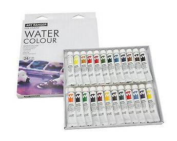 Краски акварельные Josef Otten 2412CEW  в тюбиках 12 мл 24 цвета