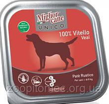 Вологий корм для собак Morando (Морандо) Migliorсane Unico з телятиною, 300 г