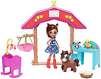 Набор Энчантималс Детский сад с куклой Лошадка Хайди Enchantimals Barnyard Nursery Playset with Haydie Horse
