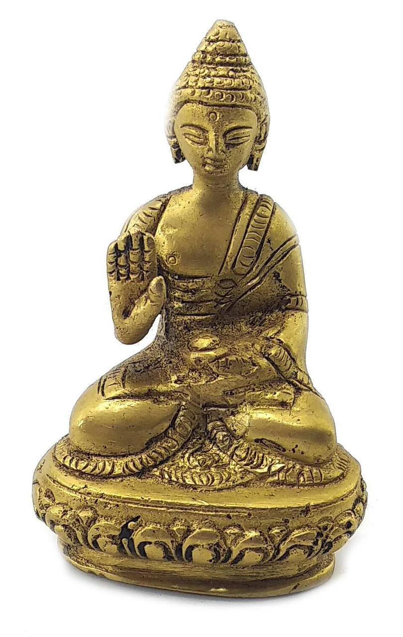 Будда бронзовый (8х5.5х3,5 см)С